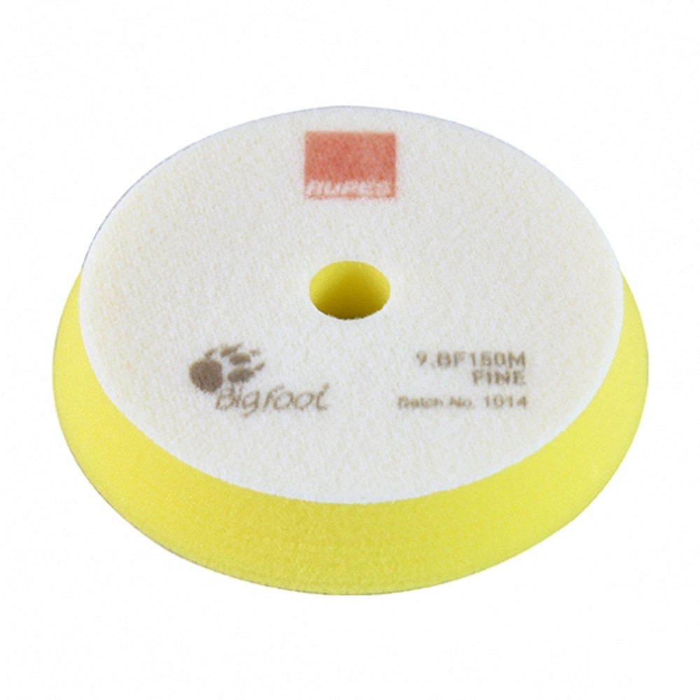 4 Inch Rupes Yellow Foam Fine Pad for 3 Inch Backing Plate 9BF100M