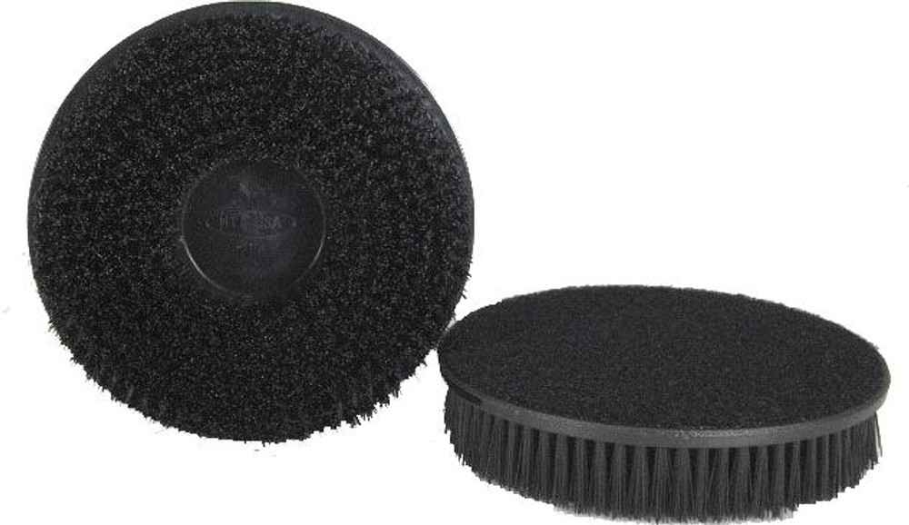 "Hi-Tech 5"" x 7/8"" Bristle Hook & Loop Carpet & Upholstery Brush"