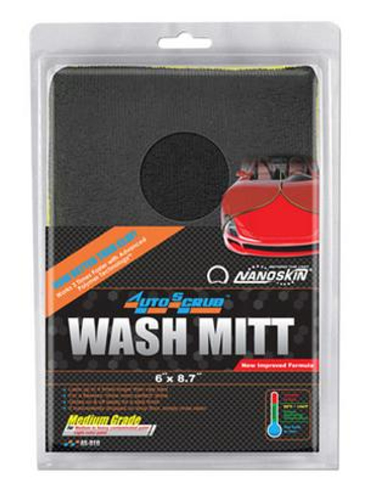 Nanoskin Autoscrub Medium Wash Mitt