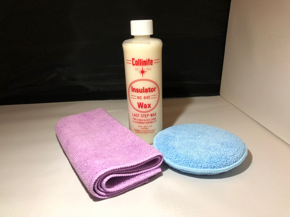 Collinite 845 Liquid Wax Combo Deal with Towel & Applicator