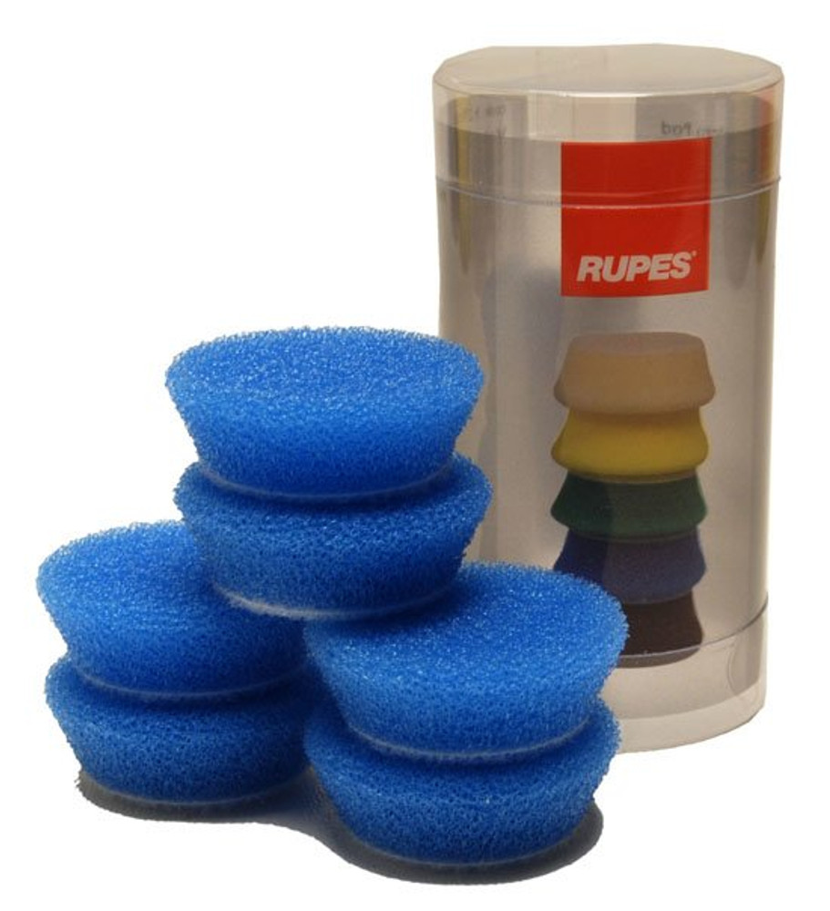New 2 Pack 7 Inch Rupes Blue Foam Coarse Pad for 6 Inch Backing Plate 9BF180H