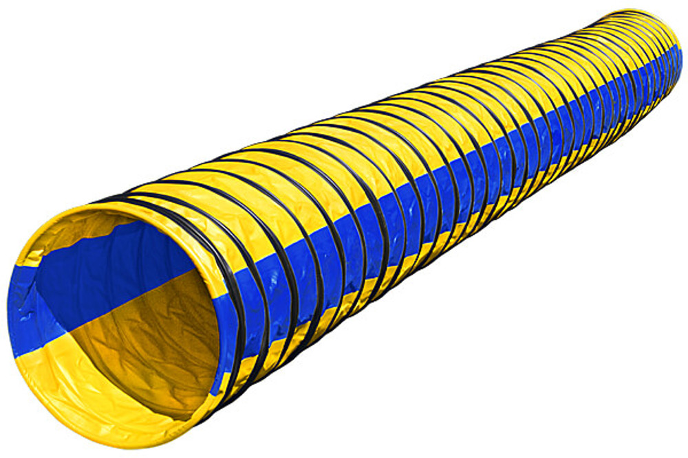 Naylor Heavyweight 4in. Pitch 6 Meter (19.6 ft lg) Agility Tunnels - Stock Colors