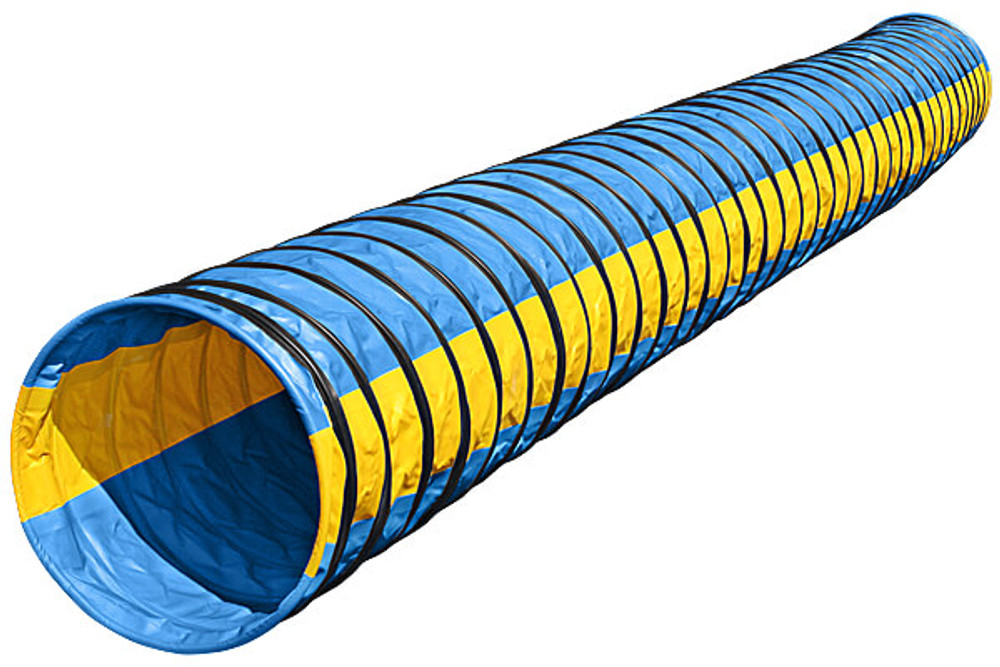 Naylor Heavyweight 4in. Pitch 5 Meter (16 ft lg) Agility Tunnels - Stock Colors