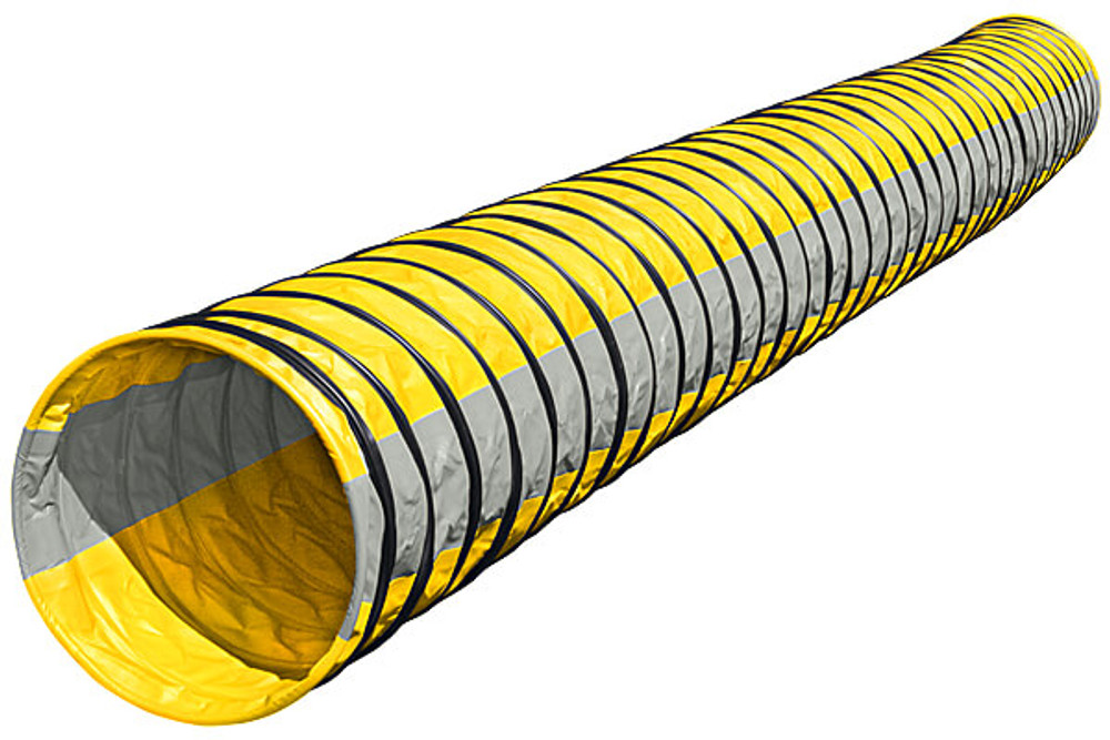 **PRE ORDER** Naylor Heavy-Weight Competition Agility Tunnels-6 meter - YELLOW/GRAY