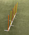 Shown with optional poles