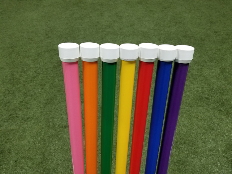 Color Weave Poles, 6 Pole Set (Poles Only)