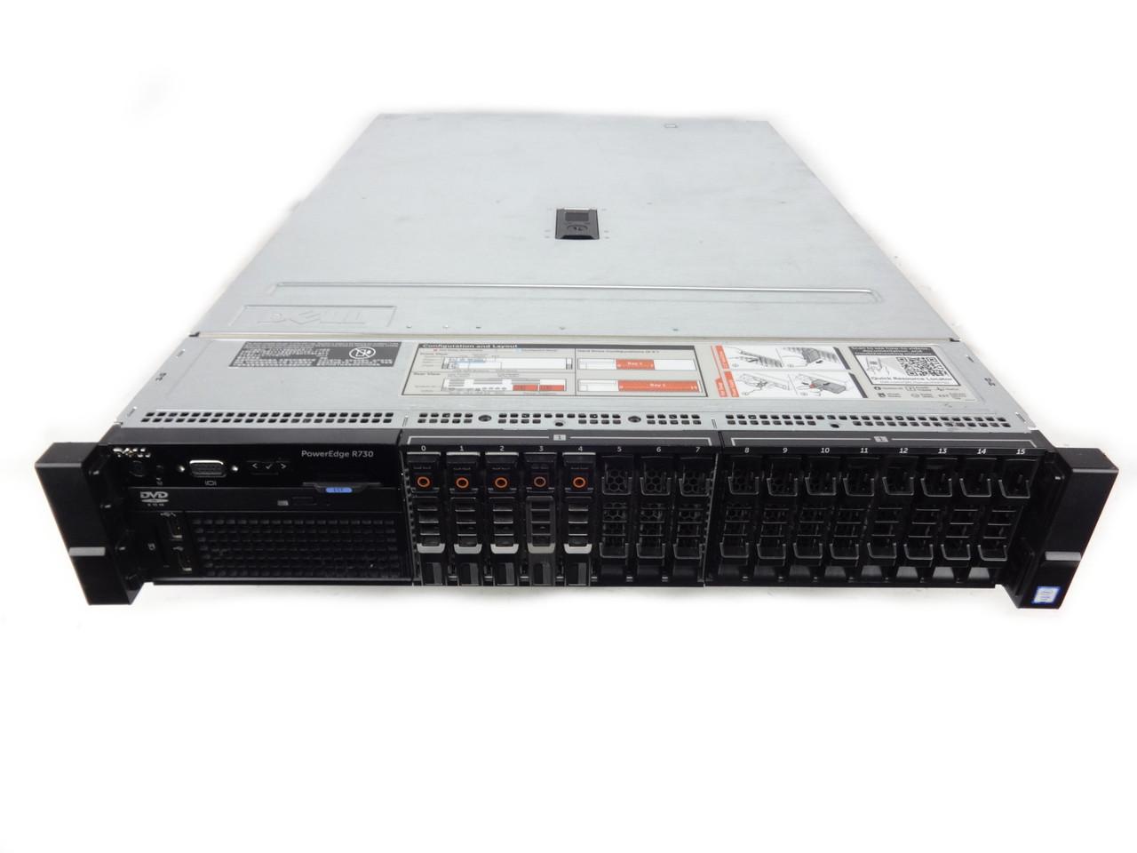 Dell Poweredge R730 16 Bay Server