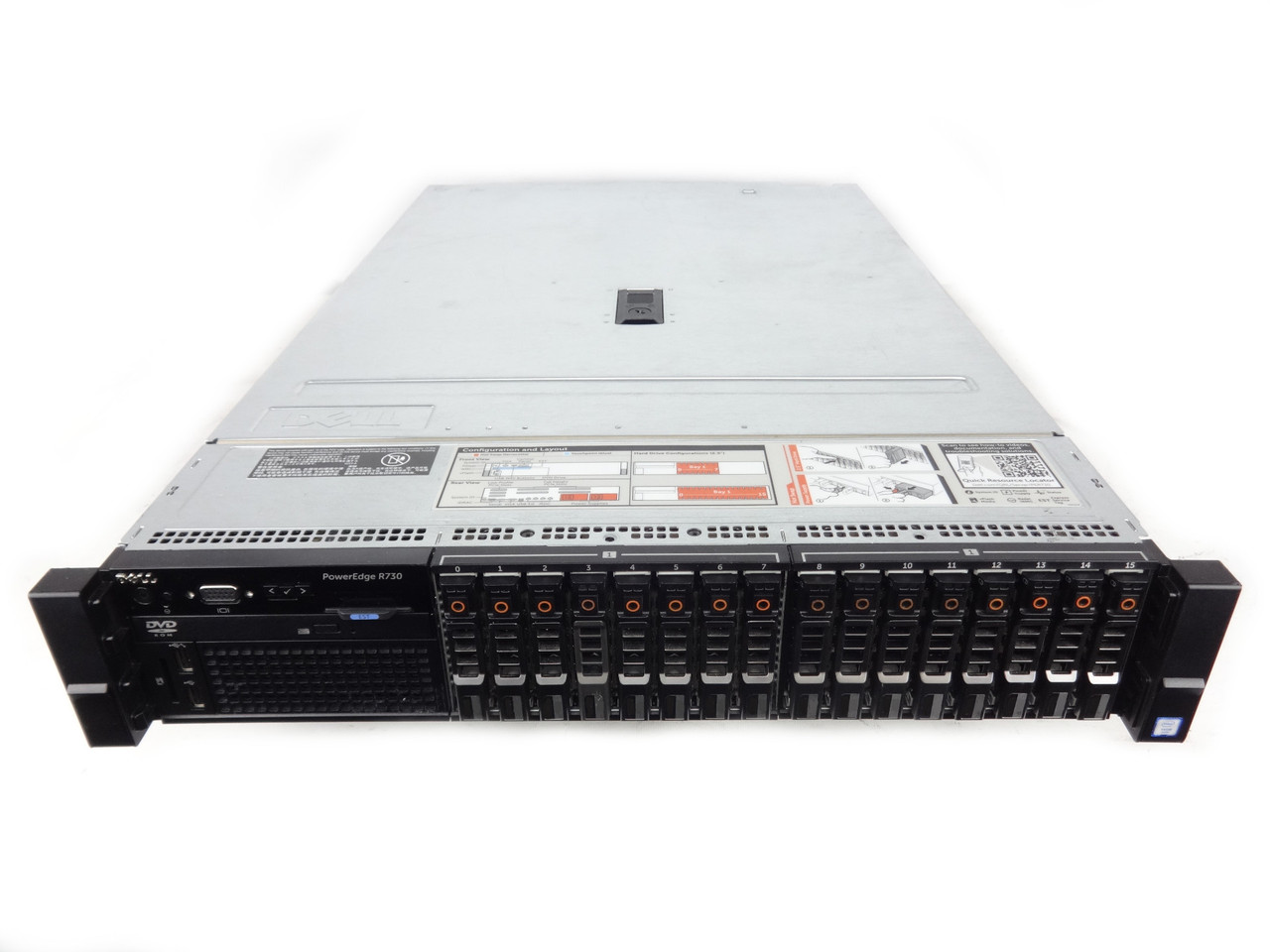 Poweredge R730 16 Bay Server
