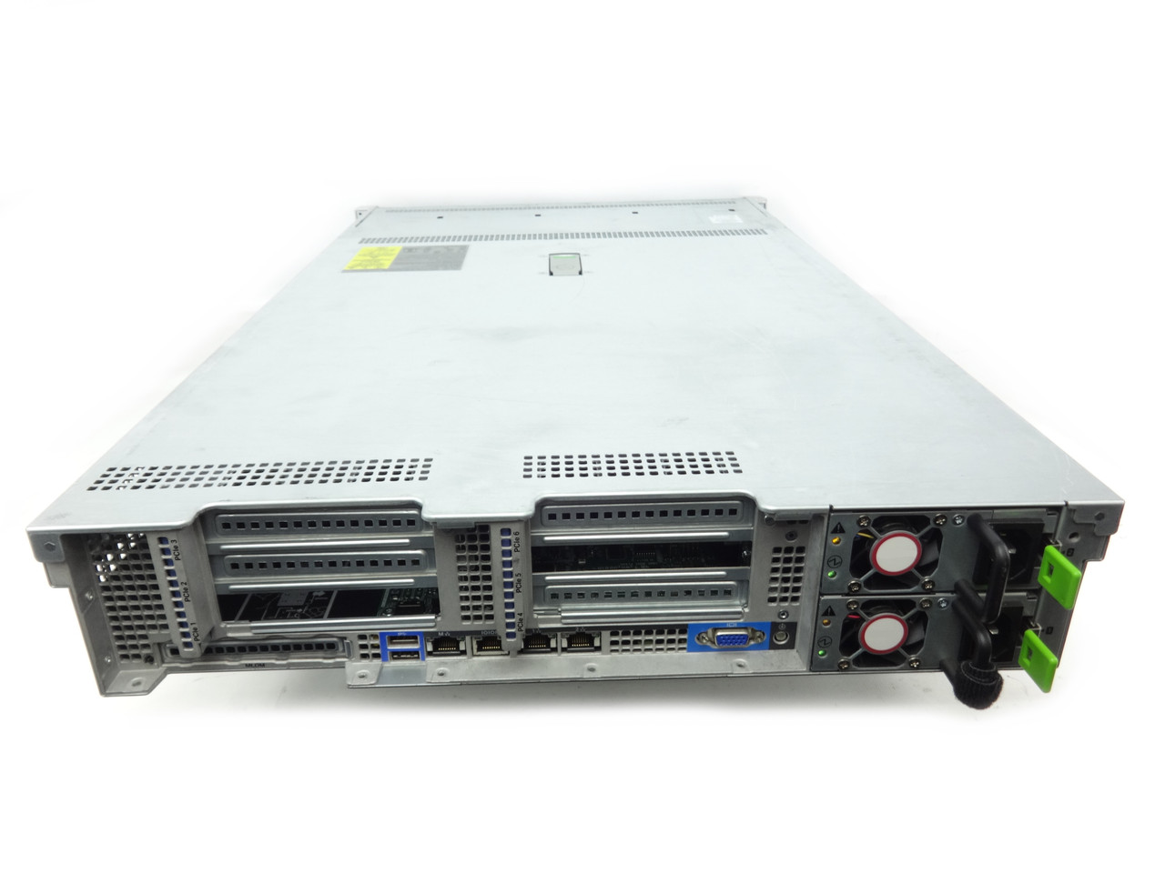 Cisco UCS C240 M4 Back of Server