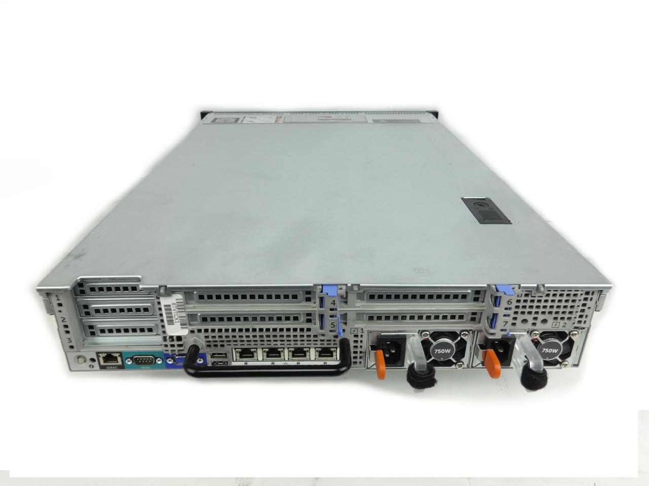 Dell Poweredge R720 8 LFF Server Back