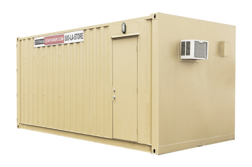 20 FOOT OFFICE & STORAGE COMBO