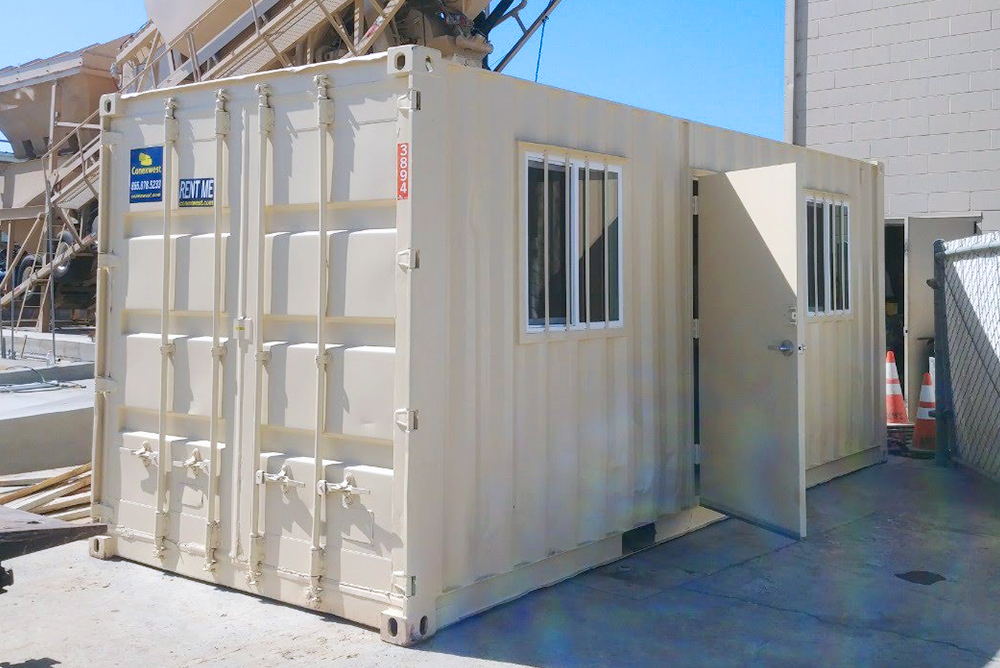 Ground Level Office Containers