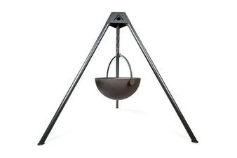 "Cowboy Cauldron ""Urban Cowboy"" 30-Inch Diameter Steel Cauldron Fire Pit"