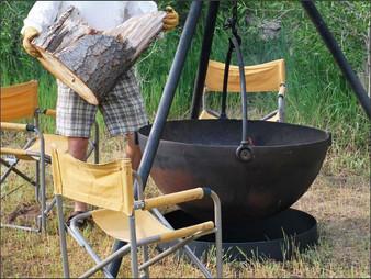 Cowboy Cauldron Fire Ring