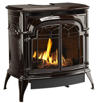 Vermont Casting Stardance IFT Gas Stove, Majolica Brown