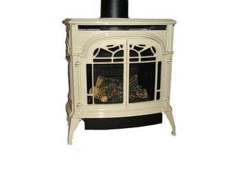 Vermont Casting Stardance IFT Gas Stove, Biscuit Enamel