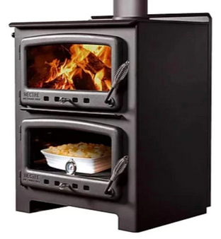 Nectre 550 Wood Stove Heater & Oven