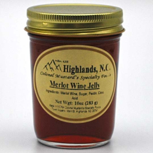 Merlot Wine Jelly  10 oz