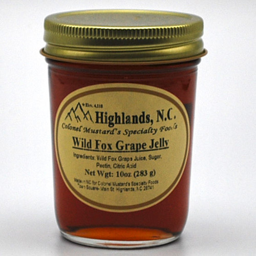 Wild Fox Grape Jelly from Highlands