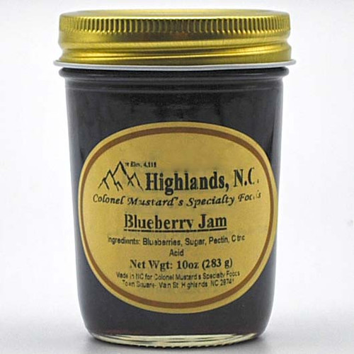 Blueberry Jam 10 oz