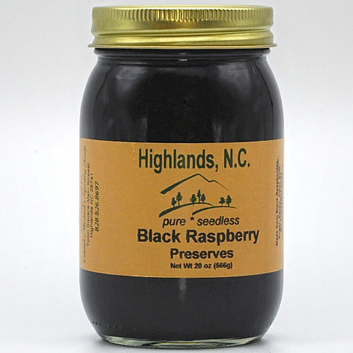 Black Raspberry Preserves Seedless 20 oz.
