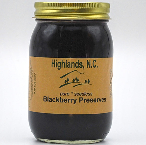Blackberry Preserves Seedless 20 oz.