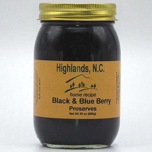 Black & Blue Berry  Preserves 20 oz.
