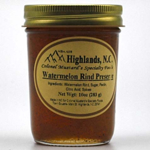 Watermelon Rind Preserves 10 oz