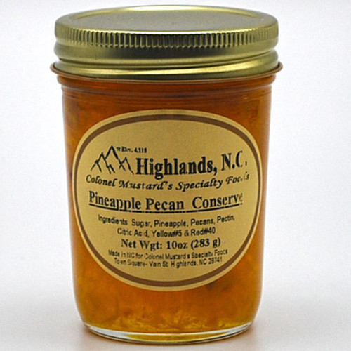 Pineapple Pecan  Conserve 10 oz.