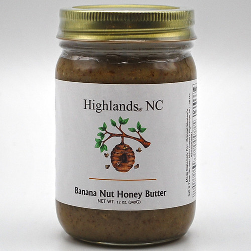 Banana Nut Honey Butter 12 oz.