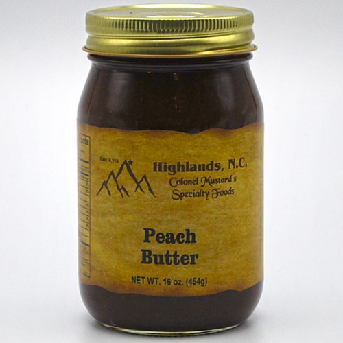 Peach Butter 16 oz.