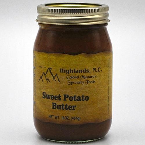 Sweet Potato Butter 16 oz.