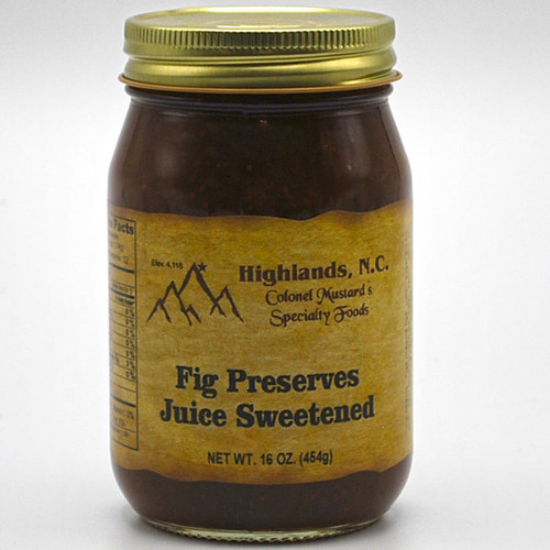 Fig Preserves Juice Sweetened