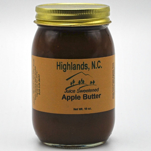 Juice Sweetened Apple Butter  16 oz.