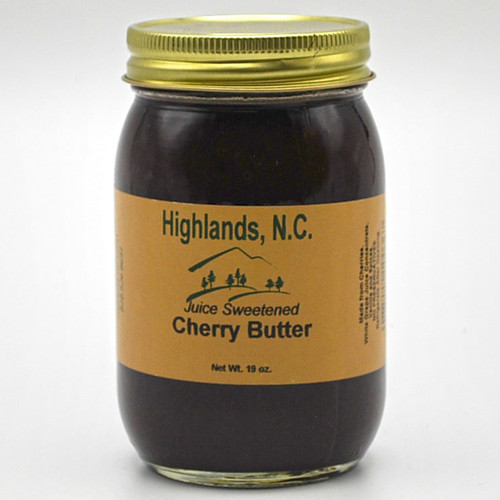 Juice Sweetened Cherry Butter  19 oz.