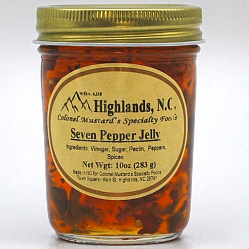 Seven Pepper  Jelly 10 oz.