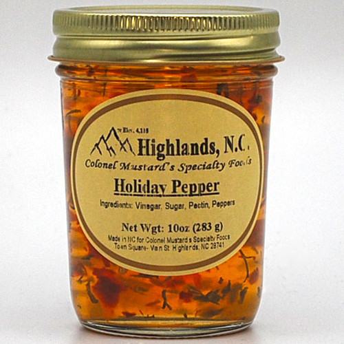 Holiday Pepper Jelly 10 oz.