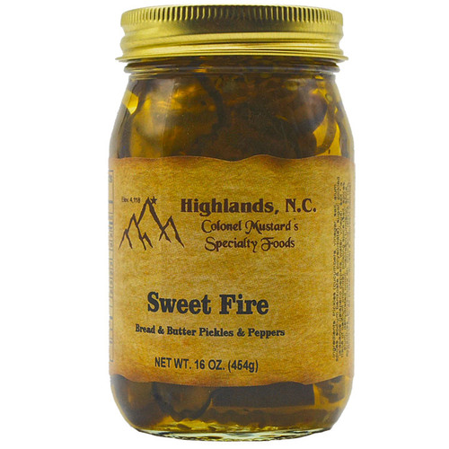 Sweet Fire Bread & Butter Pickles