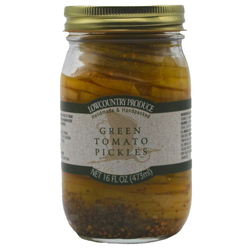 Green Tomato Pickles Sliced/Stacked LCP
