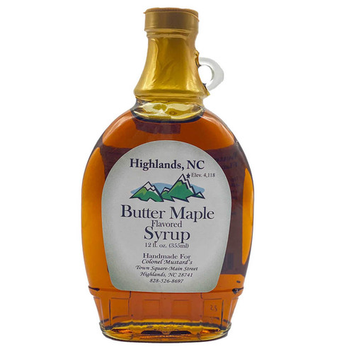 Butter Maple Syrup