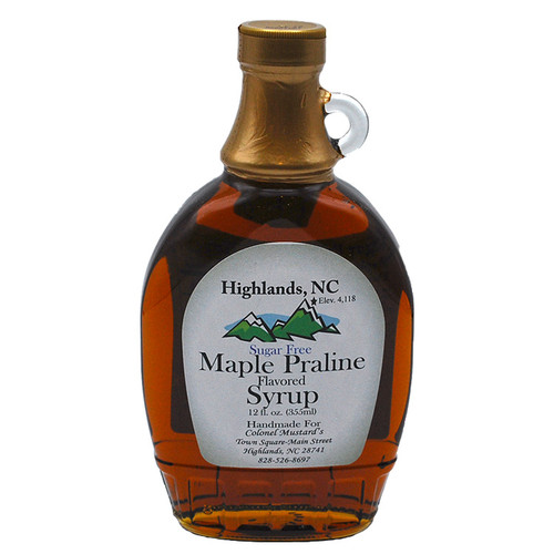 no Sugar added Maple Praline Syrup