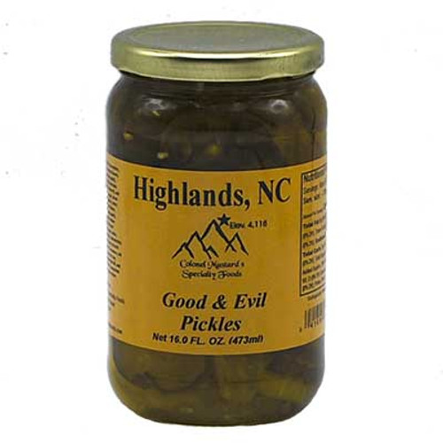 Good and Evil Pickles 16 oz
