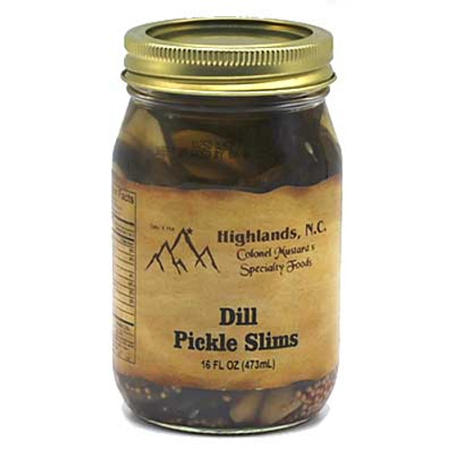 Dill Pickle Slims 16 oz