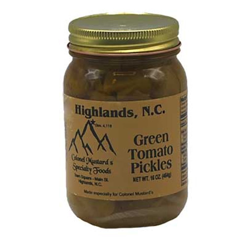 Green Tomato Pickles 16 oz