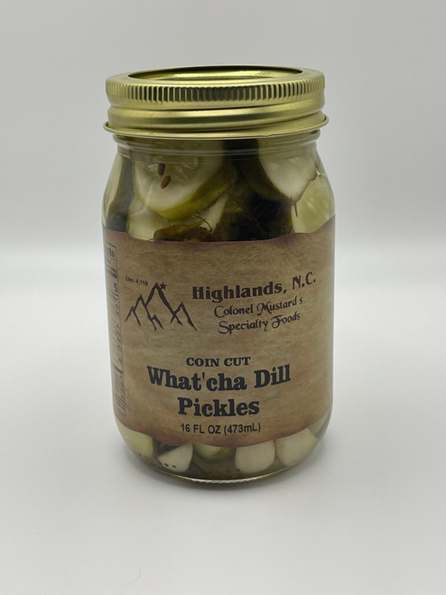 What'cha Dill Coin Cut Pickles