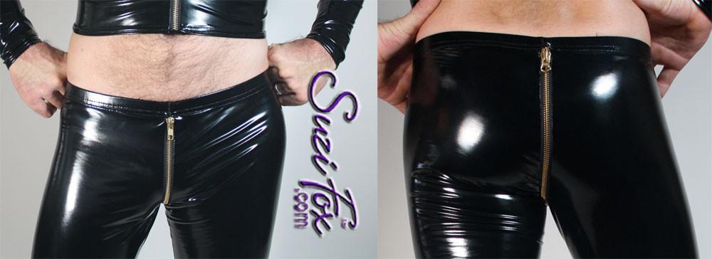Add an optional crotch zipper!