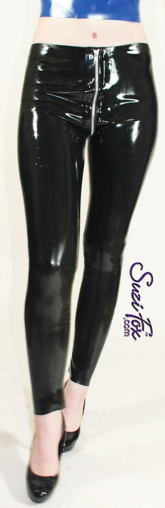 Custom Latex Rubber leggings by Suzi Fox.