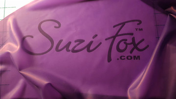 Transparent purple, .33mm latex