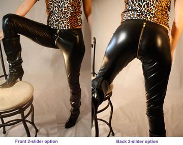 2-slider zipper option