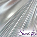 Silver Metallic Foil coated Spandex